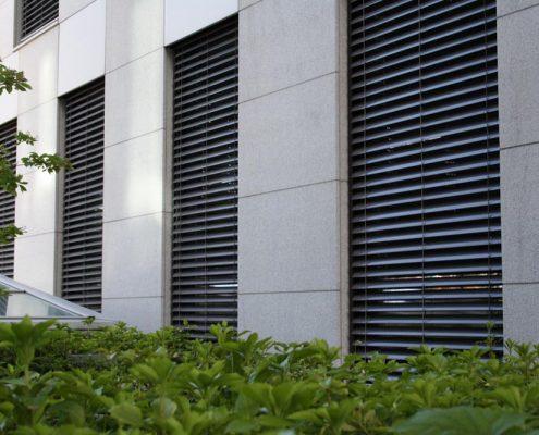 Gjensidige - Utvendige persienner